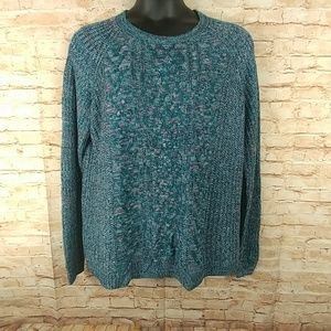 Faded Glory Pullover Sweater Dolman Sleeve XXL(20)